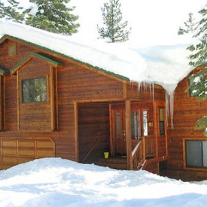 North Lake vacation rental in winter dog friendly